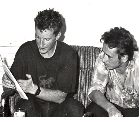 Billy Bragg & Thomas Bohnet 1989