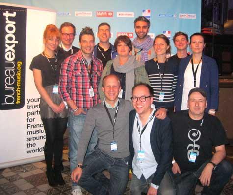 Branchenmeeting MaMA Paris 2012. Deutsche Delegation
