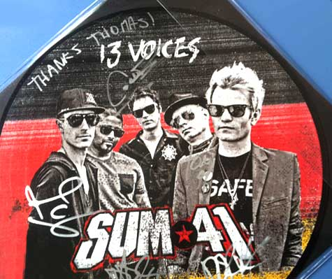 SUM41. Thank you Thomas!